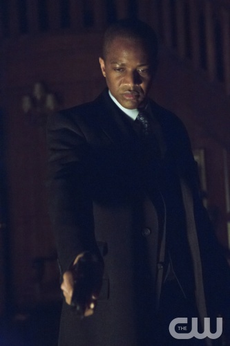 J. August Richards as Mr Blank. Photo Credit Jack Rowand/ The CW