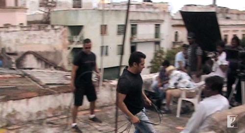 BamBam and Salman Khan