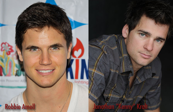 Robbie Amell and Jon Kralt - separated at birth?