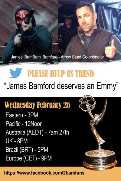 james bamford deserves an emmy
