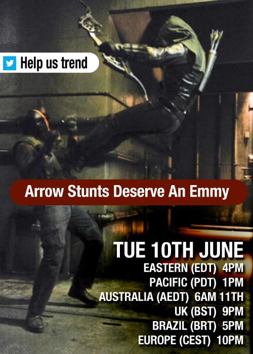 Stunt Emmy poster