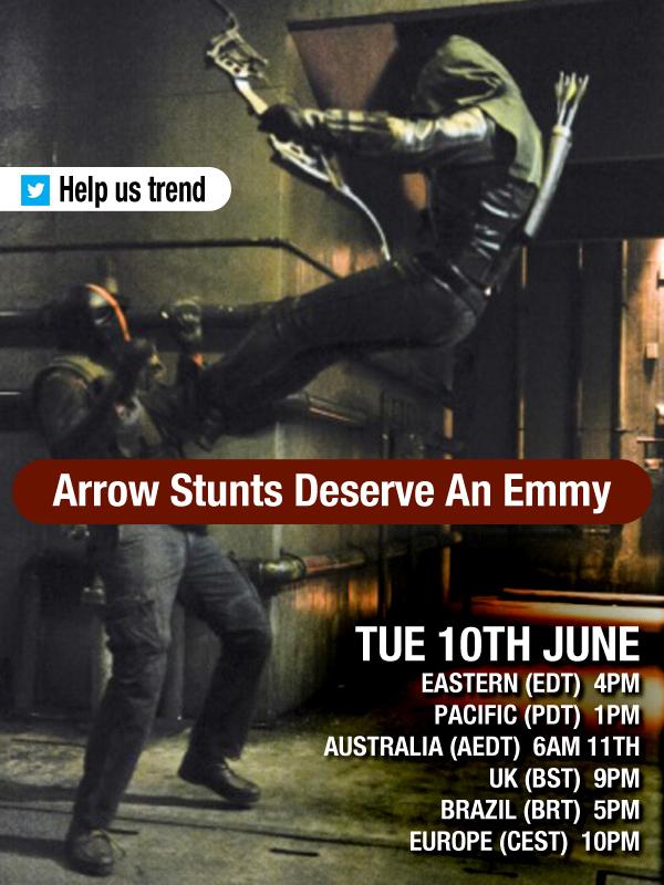Large Stunt Emmy poster