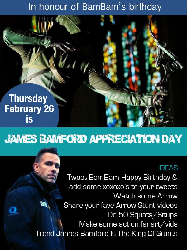 james bamford appreciation day