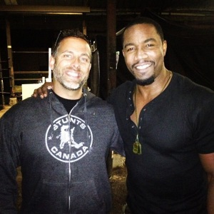 James Bamford and Michael Jai White