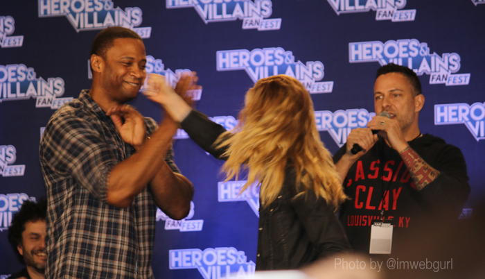 james bamford, david ramsey and caity lotz