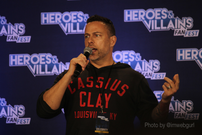james bamford at heroes and villains