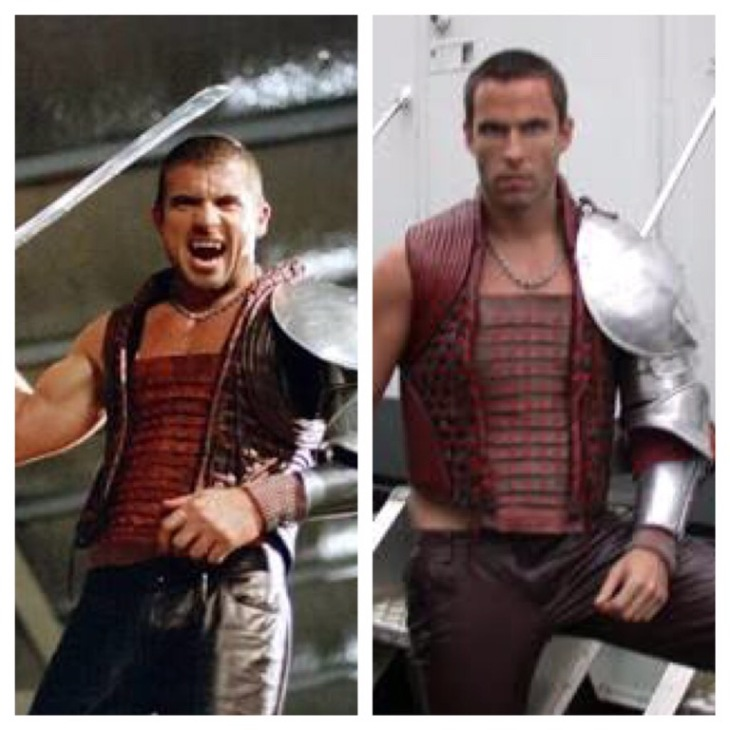dominic purcell and james bamford in blade trinity