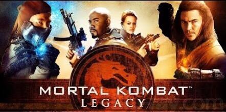 Mortal Kombat Legacy DVD cover