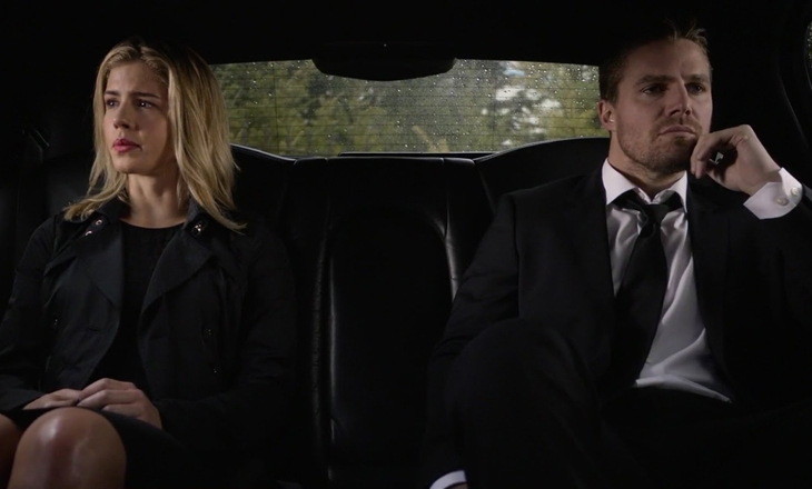 Oliver Felicity funeral scene