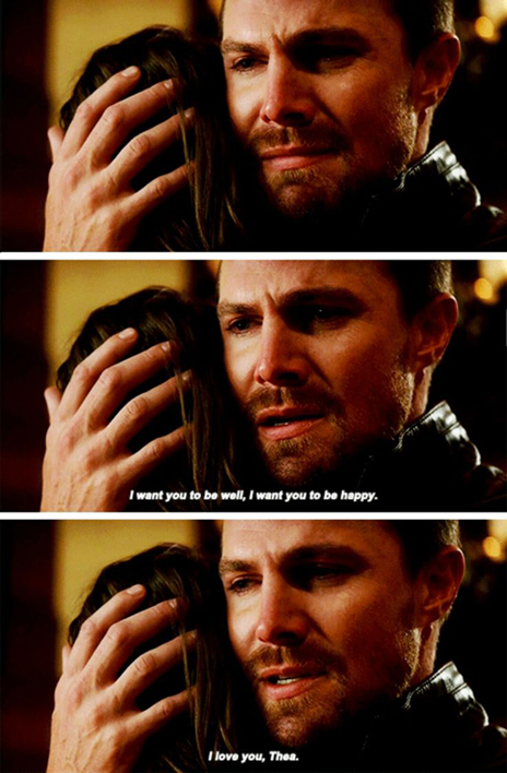 Arrow - Oliver and Thea